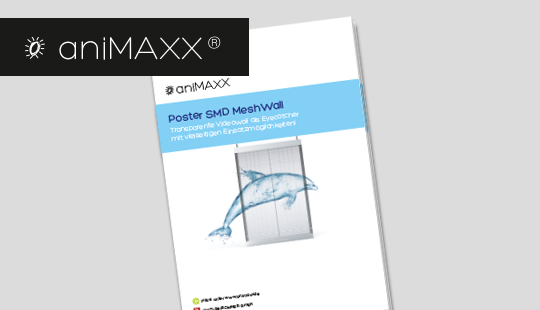 SOMMER GmbH - aniMAXX – Poster SMD MeshWall