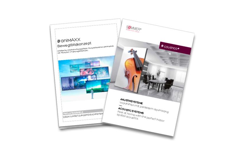 SOMMER GmbH - aniMAXX – Broschüren