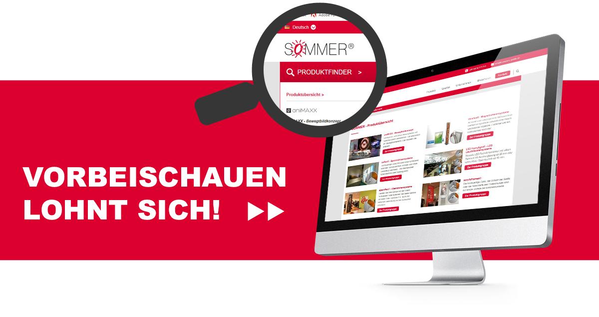 SOMMER GmbH - Produktfinder