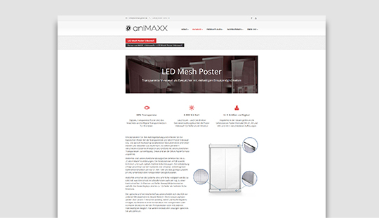 SOMMER GmbH - SMD MeshWall Poster Website