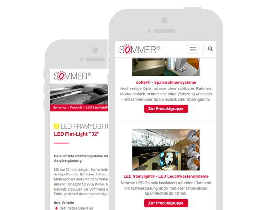 SOMMER GmbH - Jetzt Website besuchen
